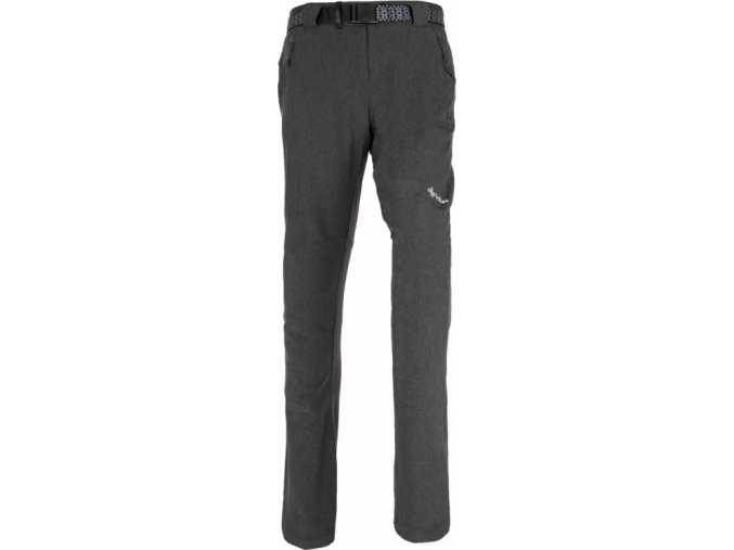 67671 damske kalhoty kilpi wanaka w tmave seda