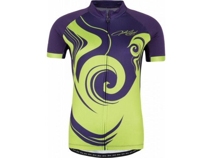 67734 damsky cyklisticky dres kilpi foxiera w fialova
