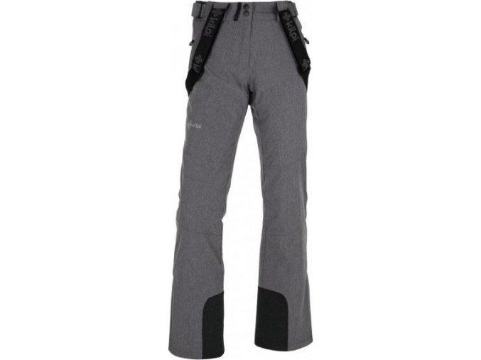 Dámské lyžařské kalhoty KILPI ALIN-W Šedá