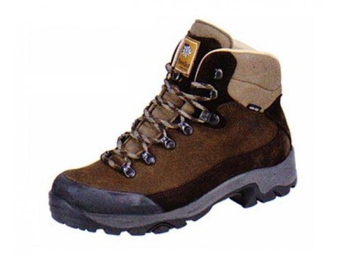 Pánská outdoorová obuv Planika BOVEC Hnědá