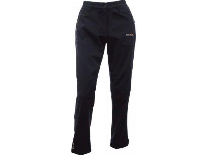 73271 damske sotshellove kalhoty regatta rwj113r geo sshell trs ii black