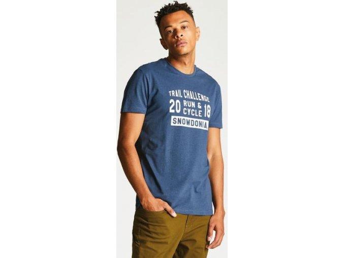 Pánské tričko Dare2B DMT419 RACEMAKER TEE Modrá