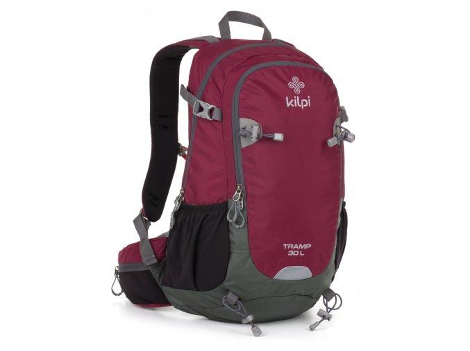 Turistický batoh KILPI TRAMP 30L  Červená 18
