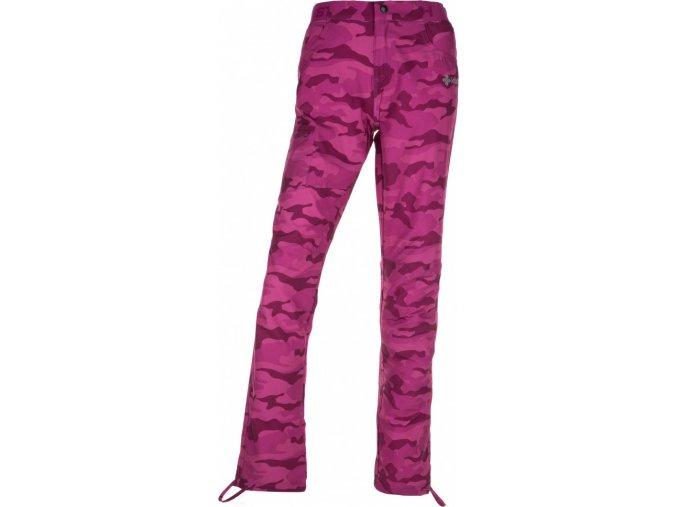 75630 damske outdoorove kalhoty mimicri w ruzova
