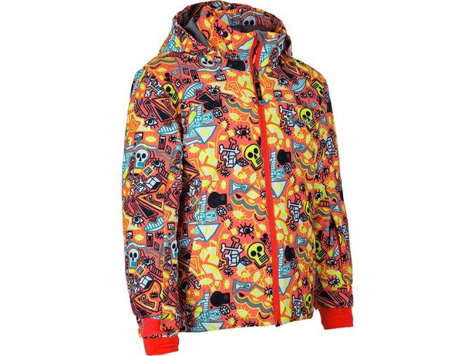 Dívčí lyžařská bunda KILPI GENOVESA-JG Růžová 19