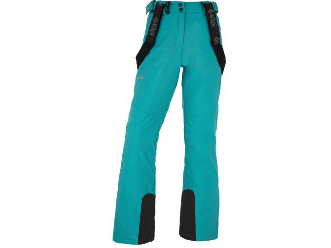 Dámské zimní lyžařské kalhoty KILPI ELARE-W Tyrkysová 19
