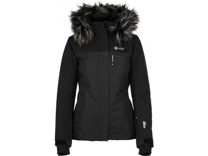 Dámská  lyžařská  bunda KILPI MILVA-W Černá 19