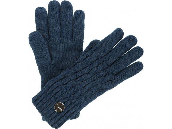 91261 dmske zimni tukavice regatta multimix glove ii modra
