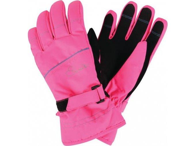 Dětské lyžařské rukavice Dare2B DGG306 HAND PICK II Růžová