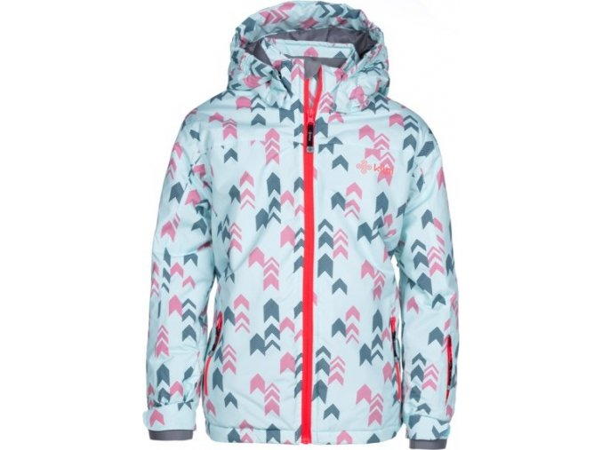 Dívčí  lyžařská bunda KILPI JENOVA-JG Růžová