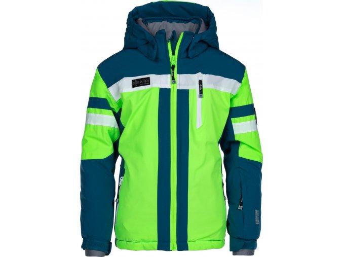 Chlapecká lyžařská bunda KILPI PONTE-JB Zelená