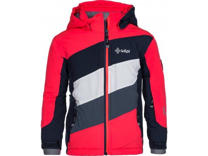 Dívčí lyžařská bunda KILPI SAARA-JG Růžová