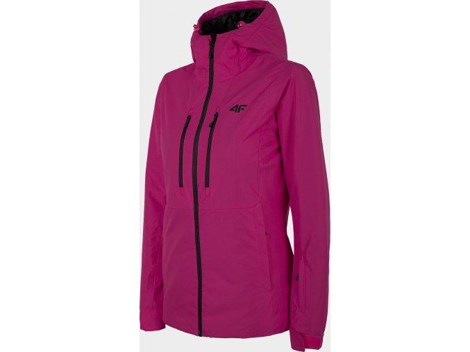 Dámská lyžařská bunda 4F KUDN301 Růžová