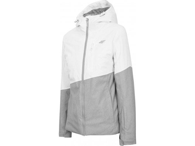 Dámská lyžařská bunda 4F KUDN303 Bílá