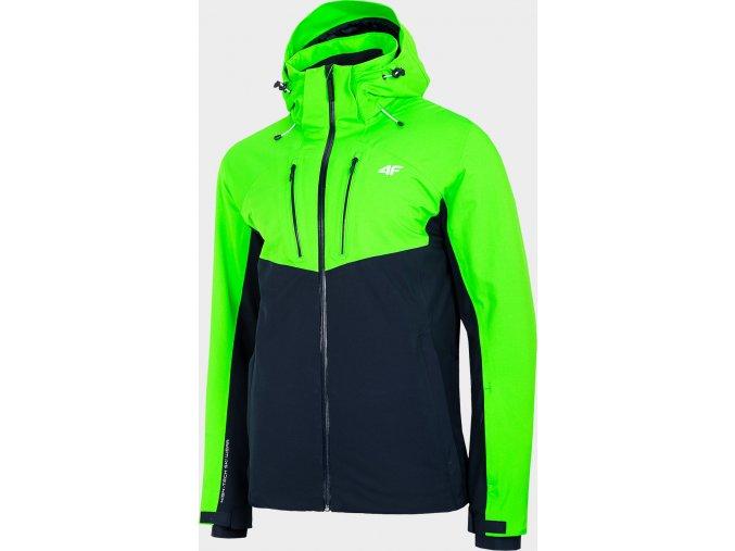 Pánská lyžařská bunda 4F KUMN258R Zelená
