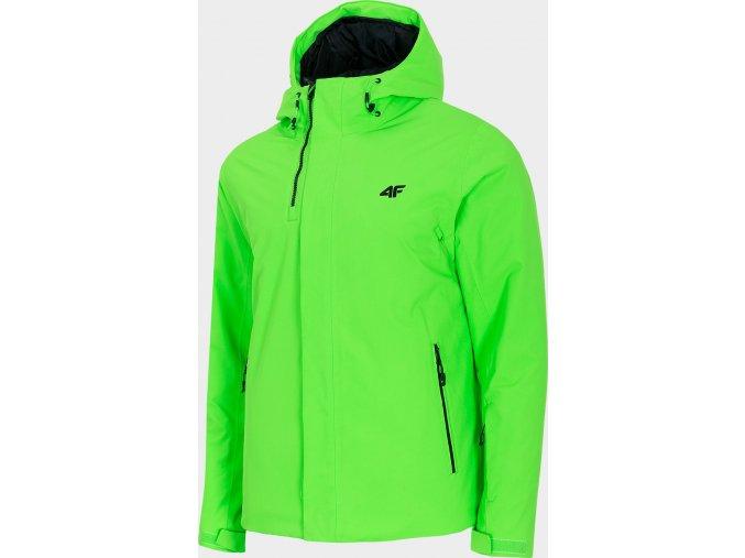 Pánská lyžařská bunda  4F KUMN350 Zelená