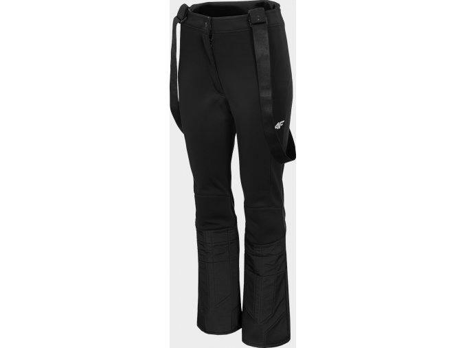 Dámské lyžařské softshellové  kalhoty 4F SPDN203 Černé
