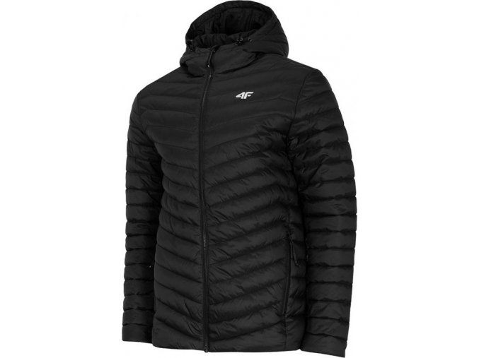 Pánská péřová bunda KUMP003 Černá