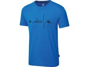 Pánské tričko Dare2B DMT523 Differentiate Modré