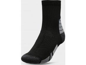 100901 panske sportovni ponozky 4f som208 cerne
