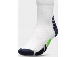 100904 panske sportovni ponozky 4f som208 bile