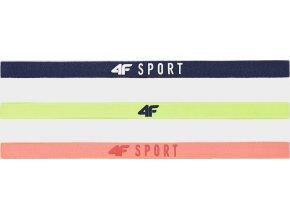 101288 sportovni celenka 4f opu202 modra zelena oranzova neon 3 kusy