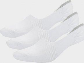 Dámské ponožky Outhorn SOD601 Bílé (3páry v balení)