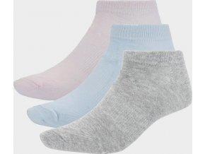 Dámské ponožky Outhorn SOD600A Růžové_modré_šedé