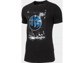 Pánské tričko 4F TSM209 Černé