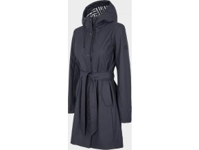 Dámský kabát Outhorn KUD603 Tmavě modrý