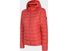 Dámská péřová bunda Outhorn KUDP601 Červená