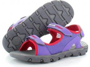 Dívčí sandály Regatta RKF409 Terrarock Jnr Fialové