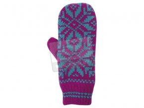 Dámské pletené rukavice Loap CYBOR růžová