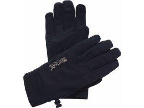 63882 damske sofshellove rukavice regatta rmg009 touchtip stretch black