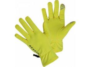 Technické rukavice Dare2B DUG005 Smart Glove II Fluro Yellow