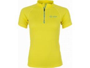 Dámské technické tričko KILPI RAFFAELA Žlutá