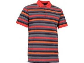 Pánské tričko s límečkem KILPI PAYSON II. Červená