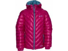 Dívčí zimní bunda KILPI BRASKI-JG Růžová