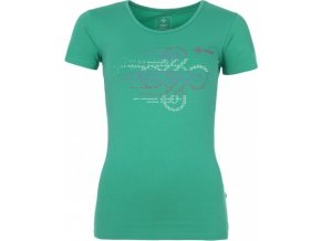 Dámské tričko KILPI JULIET tmavě zelená