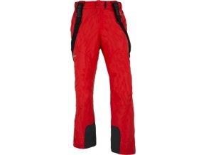 Pánské lyžařské kalhoty KILPI ZACHARY  Červená