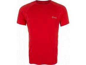 Pánské technické tričko KILPI SEVERO Červená
