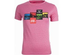 Dámské technické tričko KILPI SANDORA Růžová