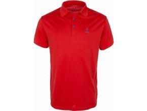 Pánské technické polo tričko KILPI JOHAN červená