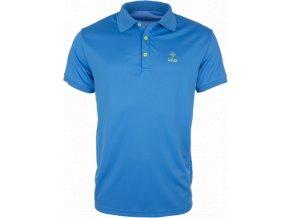 Pánské technické polo tričko KILPI JOHAN modrá
