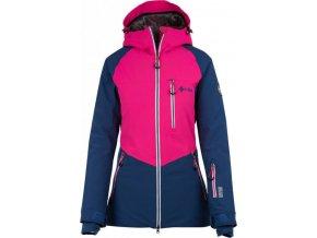 Dámská lyžařská bunda KILPI MONTANA-W Tmavě modrá
