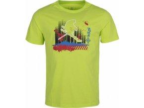 Pánské tričko KILPI SKI-M Světle zelená