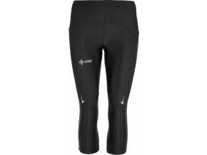 Dámské elastické 3/4 kalhoty KILPI VIGA-W Černá