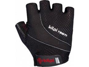 Unisex cyklistické rukavice KILPI MYRTLES-U Černá