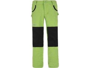 Juniorské kalhoty KILPI KARIDO-J Světle zelená