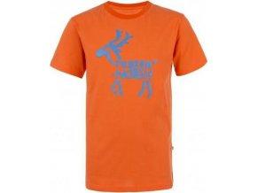 Chlapecké tričko KILPI KADOVAR-K Oranžová
